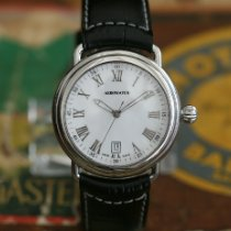 Aerowatch 1942 Steel 40mm White Roman numerals