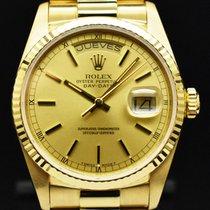 Rolex Day-Date 36 Желтое золото 36mm Золотой Без цифр