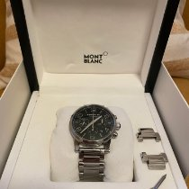 Montblanc Steel 43mm Automatic 9668 pre-owned