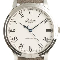 Glashütte Original Senator Automatic Steel 40mm White