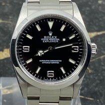 Rolex Explorer Staal 36mm Zwart Arabisch Nederland, Rotterdam