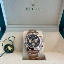 Rolex Daytona Rose gold 40mm Black No numerals UAE, Dubai