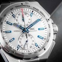 IWC Ingenieur Chronograph Racer Stahl 45mm Silber Keine Ziffern