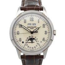 Patek Philippe White gold Automatic Champagne 40mm new Perpetual Calendar