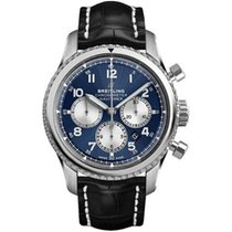 Breitling Steel 43mm Automatic AB0117131C1P1 new