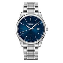 Longines Steel Automatic Blue 42mm new Master Collection
