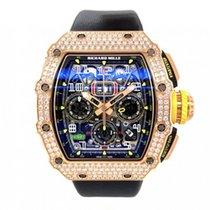 Richard Mille RM 011 RM 11-03 Não usado Ouro rosa 49.4mm Automático