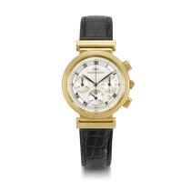 IWC Da Vinci Chronograph Желтое золото 39mm Cеребро