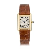 Cartier Tank Louis Cartier Yellow gold White United States of America, New York, New York