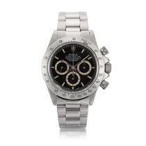 Rolex Steel Automatic Black Daytona