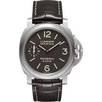 Panerai Luminor Marina 8 Days nieuw 2021 Handopwind Horloge met originele doos en originele papieren PAM00564