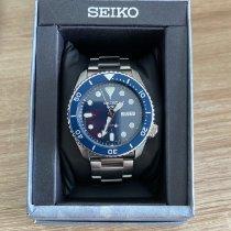 Seiko 5 Sports Acier 42.5mm Bleu Sans chiffres France, beauzelle