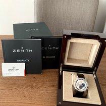 Zenith El Primero 36'000 VpH Steel 42mm Silver No numerals United Kingdom, Elland