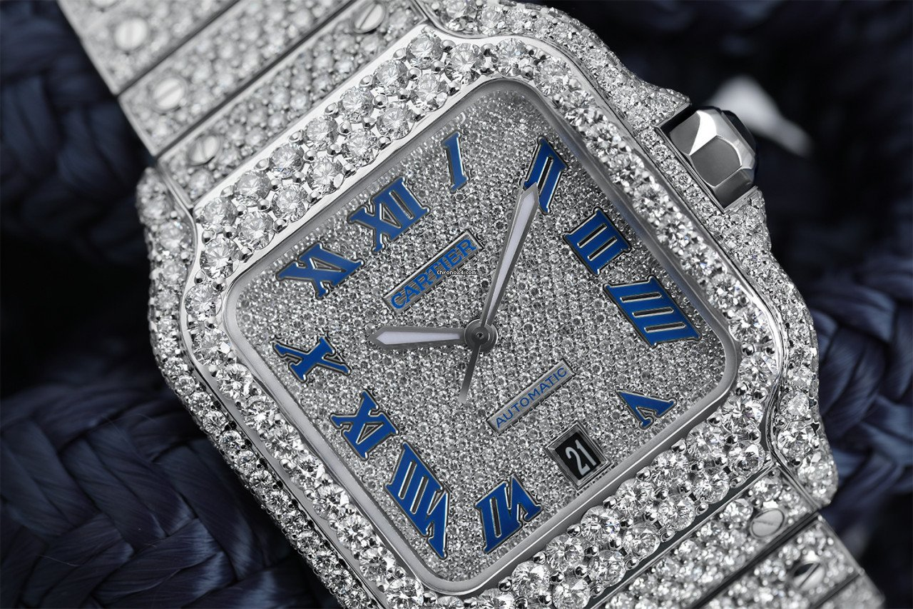 Cartier Santos (submodel) WSSA0018 new
