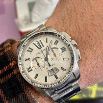 Cartier Calibre de Cartier Chronograph Acier Argent France, Toulon