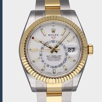 Rolex new Automatic 42mm Gold/Steel Sapphire crystal