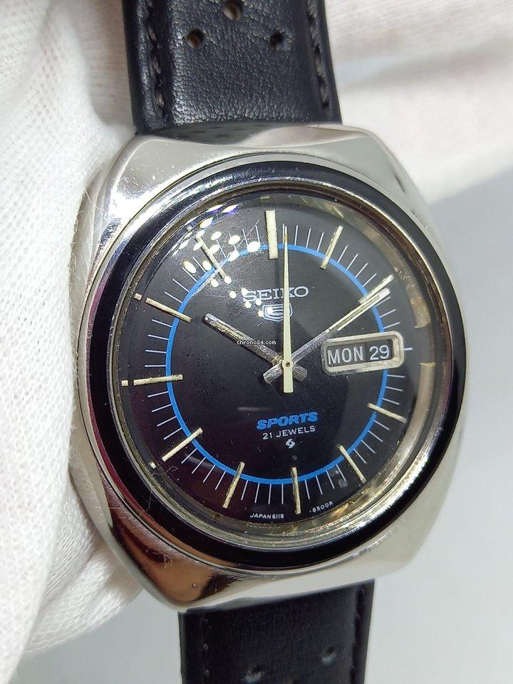 Seiko 5 Sports 6119-8490 1970 pre-owned