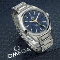 Omega Seamaster Aqua Terra Acero Azul Sin cifras
