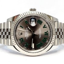 Rolex Datejust Steel 41mm Grey No numerals United Kingdom, Essex
