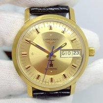 Longines Ultronic Longines 8628.1 Muito bom Ouro amarelo 34mm Quartzo