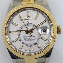Rolex Sky-Dweller Gold/Steel White No numerals UAE, Dubai