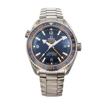 Omega Seamaster Planet Ocean pre-owned 43.5mm Date GMT