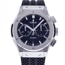 Hublot Classic Fusion Chronograph pre-owned 45mm Black Rubber