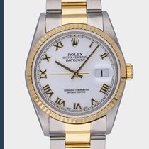 Rolex 16233 Gold/Steel 2003 Datejust 36mm pre-owned