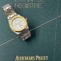 Audemars Piguet Royal Oak Dual Time occasion Champagne Or/Acier