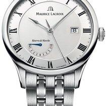 Maurice Lacroix Masterpiece Réserve de Marche Steel 40mm White