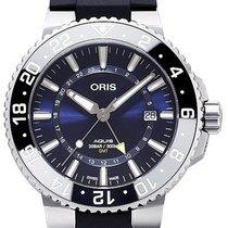 Oris Aquis GMT Date Stahl 43.5mm Blau Deutschland, Schwabach