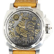 Panerai Special Editions Steel 44mm Silver Arabic numerals United States of America, New York, Smithtown