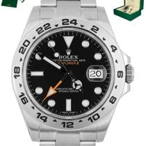 Rolex 216570 Steel Explorer II 42mm pre-owned United States of America, New York, Smithtown
