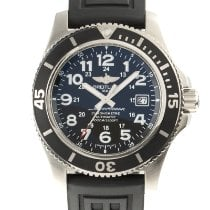 Breitling Superocean II 44 Steel 44mm Black