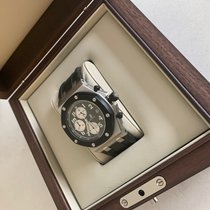 Audemars Piguet Royal Oak Offshore Chronograph Steel 42mm Black Arabic numerals