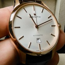 Zenith Port Royal Rose gold 40mm White United States of America, North Carolina, Winston Salem