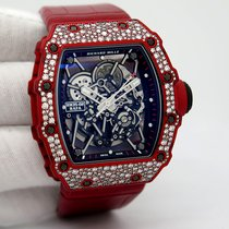 Richard Mille RM 035 RM35-02 Sehr gut Carbon 49.94mm Automatik