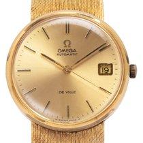 Omega 1011 Geelgoud 1968 De Ville 32mm tweedehands