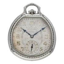 Hamilton Часы подержанные Белое золото 12mm Aрабские Механические Только часы