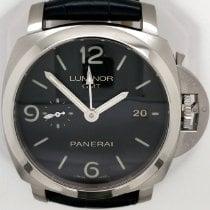 Panerai Luminor 1950 3 Days GMT Automatic Steel 44mm Black Arabic numerals United States of America, New York, New York