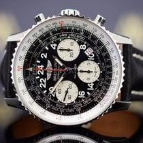 Breitling Navitimer Cosmonaute Steel 43mm Black