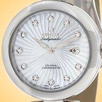 Omega De Ville Ladymatic Acier 34mm Nacre