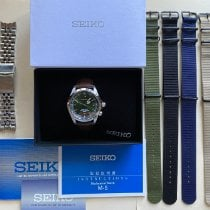 Seiko Steel Automatic Green 38mm pre-owned Spirit