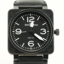 Bell & Ross Ceramic Automatic Black pre-owned BR 01-92