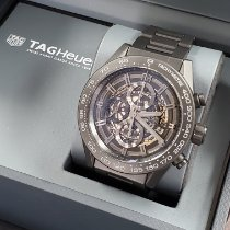 TAG Heuer Carrera Calibre HEUER 01 Ceramic 45mm Black No numerals United States of America, California, Los Angeles