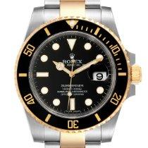 Rolex Submariner Date 116613 Очень хорошее Золото/Cталь 40mm Автоподзавод