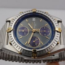 Breitling Chronomat B13047 Very good Gold/Steel 39mm Automatic