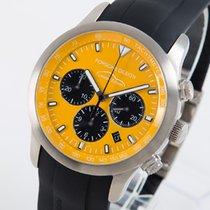 Porsche Design подержанные Автоподзавод 42mm Желтый Сапфировое стекло 10 атм