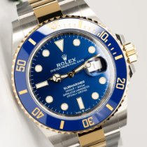 Rolex Submariner Date Gold/Steel 41mm Blue