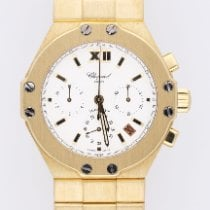 Chopard Yellow gold Automatic White Roman numerals 37.50mm pre-owned St. Moritz